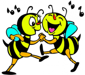 Honey bees are real dancers