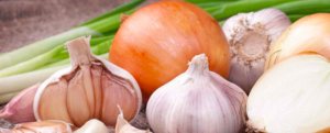 Recipe for removing heavy metals: Garlic and Onion