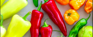 "All about ""Pepper"", a low-calorie vegetable"